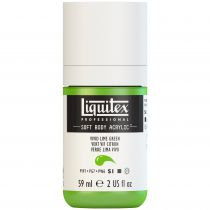 LIQUITEX SOFT BODY ACRYLIC 59ML VERT VIF CITRON