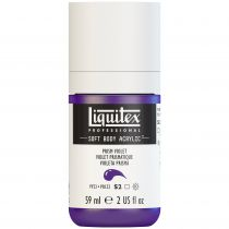 LIQUITEX SOFT BODY ACRYLIC 59ML VIOLET PRISMATIQUE