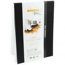 MARKER PAD A5 RHODIA TOUCH 50 Feuilles - LAYOUT 100G