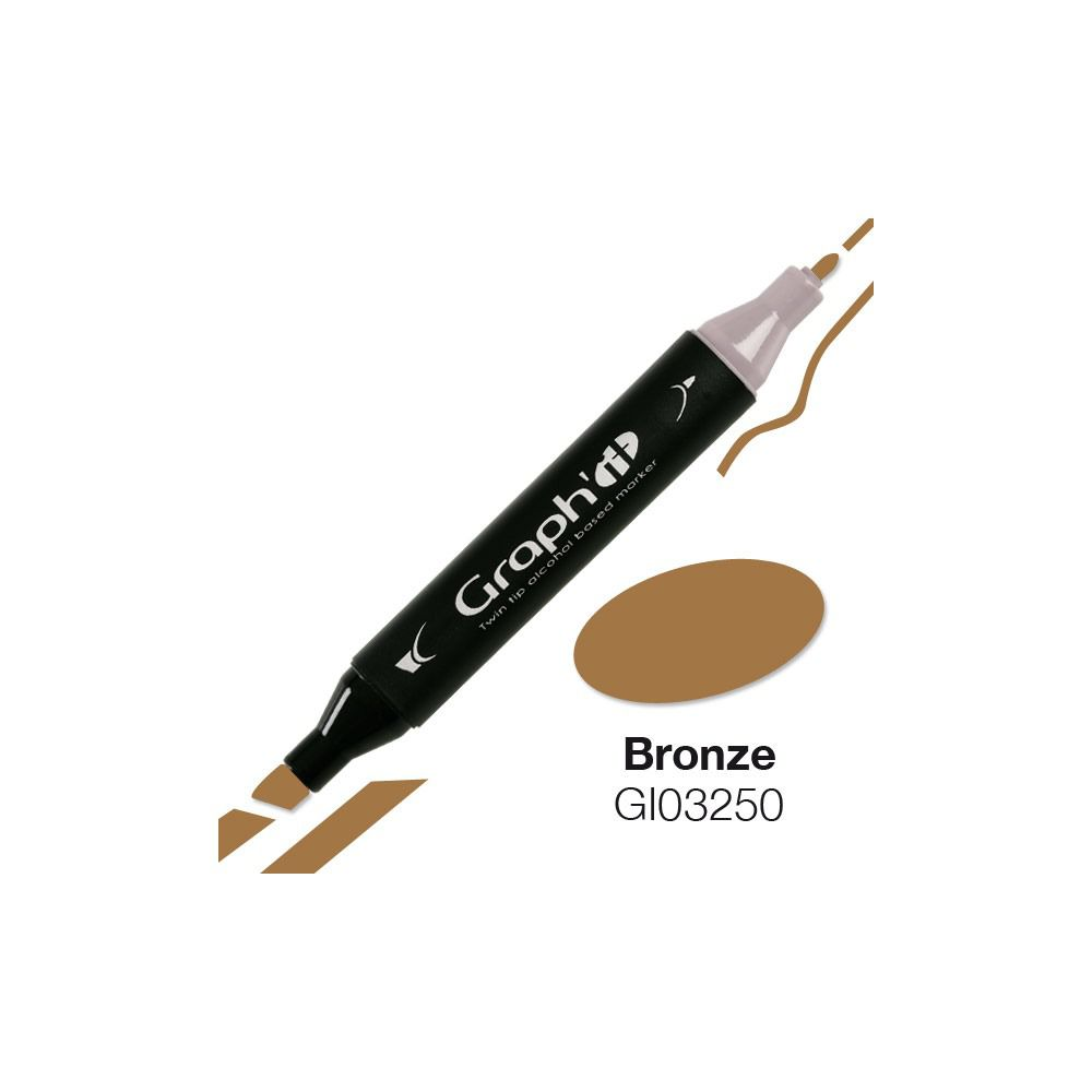 MARQUEUR GRAPH\'IT BRONZE 3250
