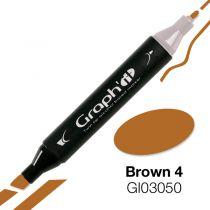 MARQUEUR GRAPH\'IT BROWN 4 3050
