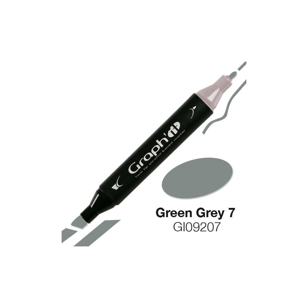 MARQUEUR GRAPH\'IT GREEN GREY 7 9207