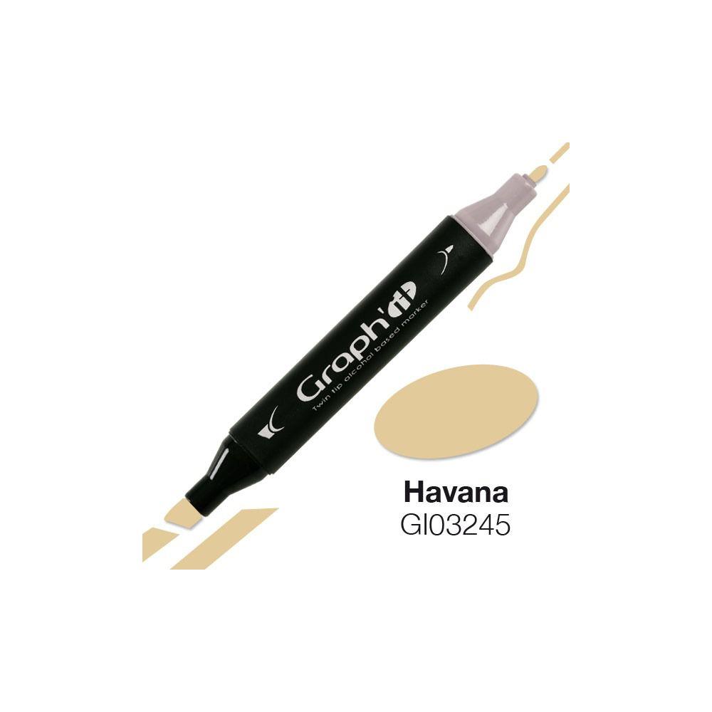 MARQUEUR GRAPH\'IT HAVANA 3245