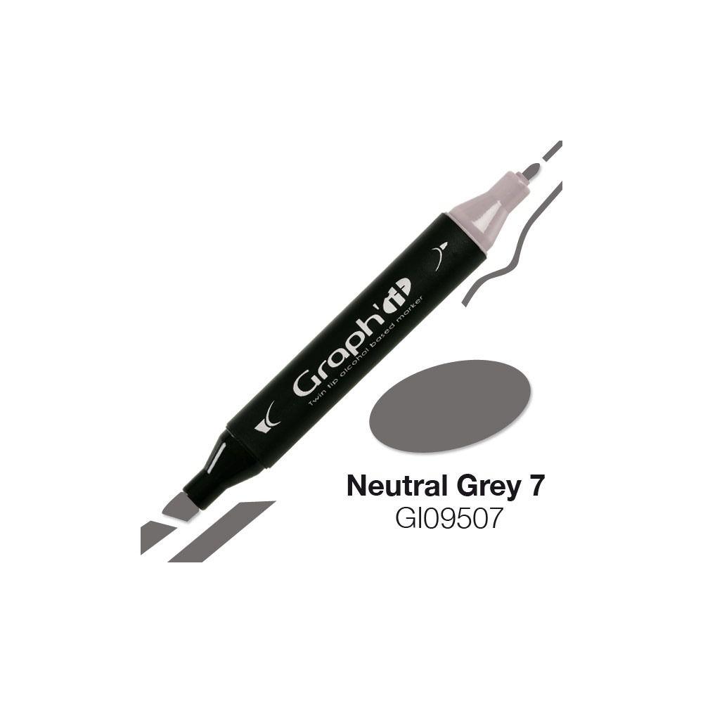 MARQUEUR GRAPH\'IT NATURAL GREY 7 9507
