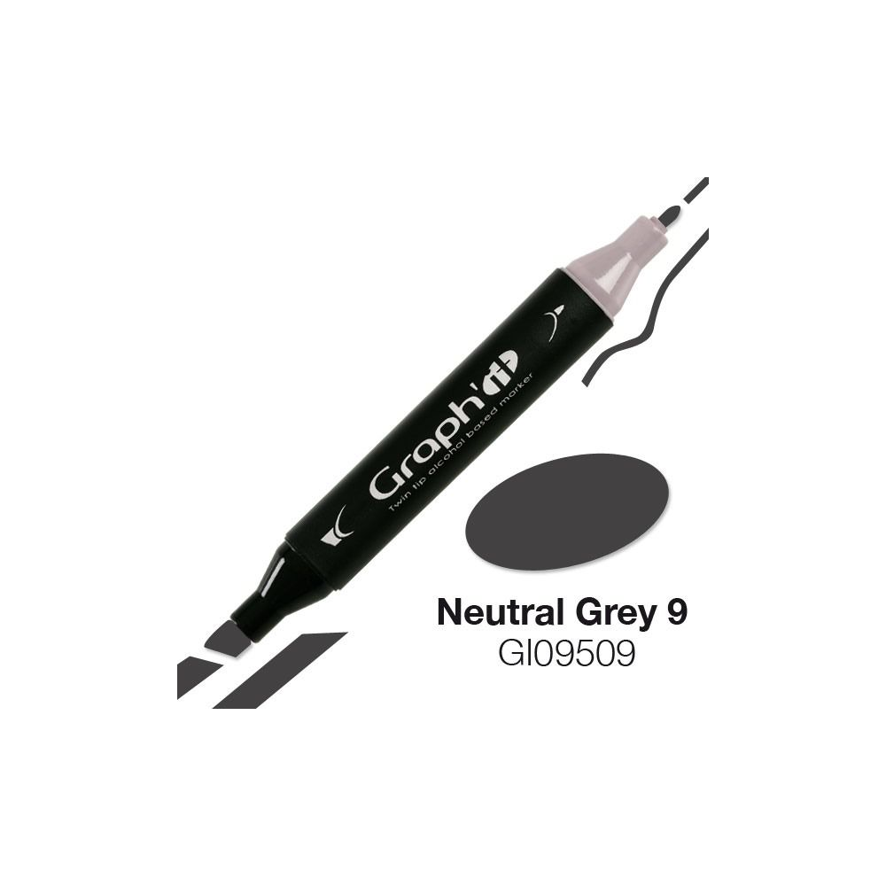 MARQUEUR GRAPH\'IT NATURAL GREY 9 9509