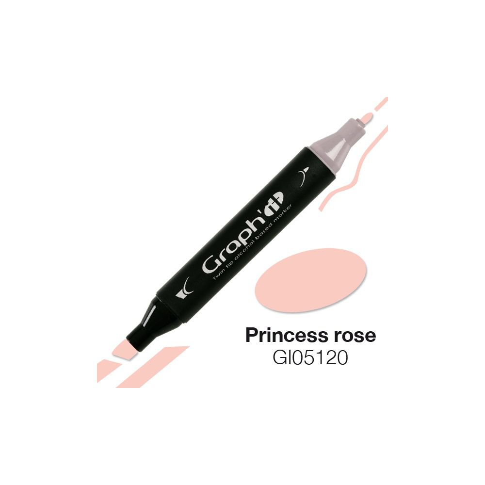MARQUEUR GRAPH\'IT PRINCESS ROSE 5120