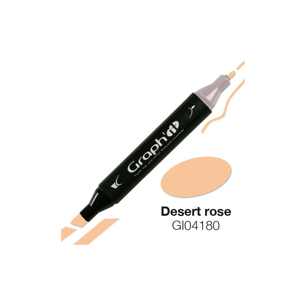 MARQUEUR GRAPH\'IT ROSE DESERT 4180