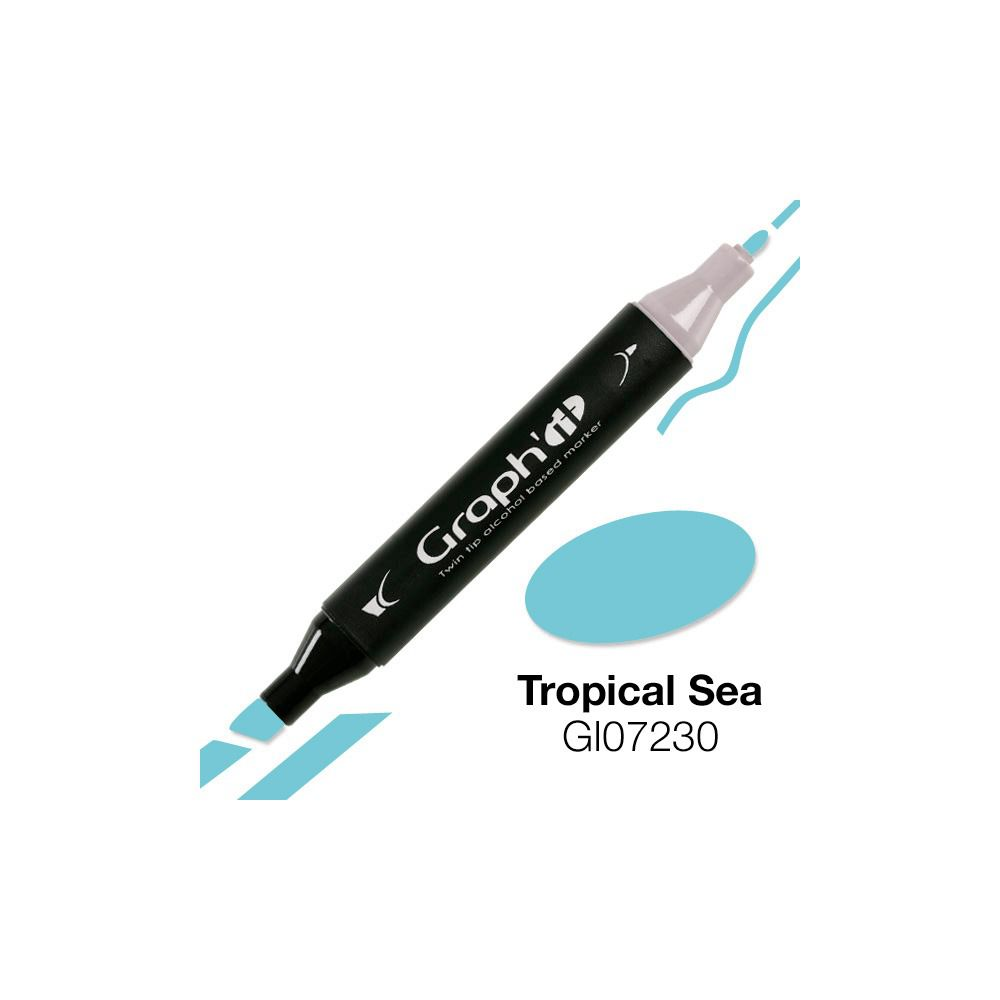 MARQUEUR GRAPH IT TROPICAL SEA 7230