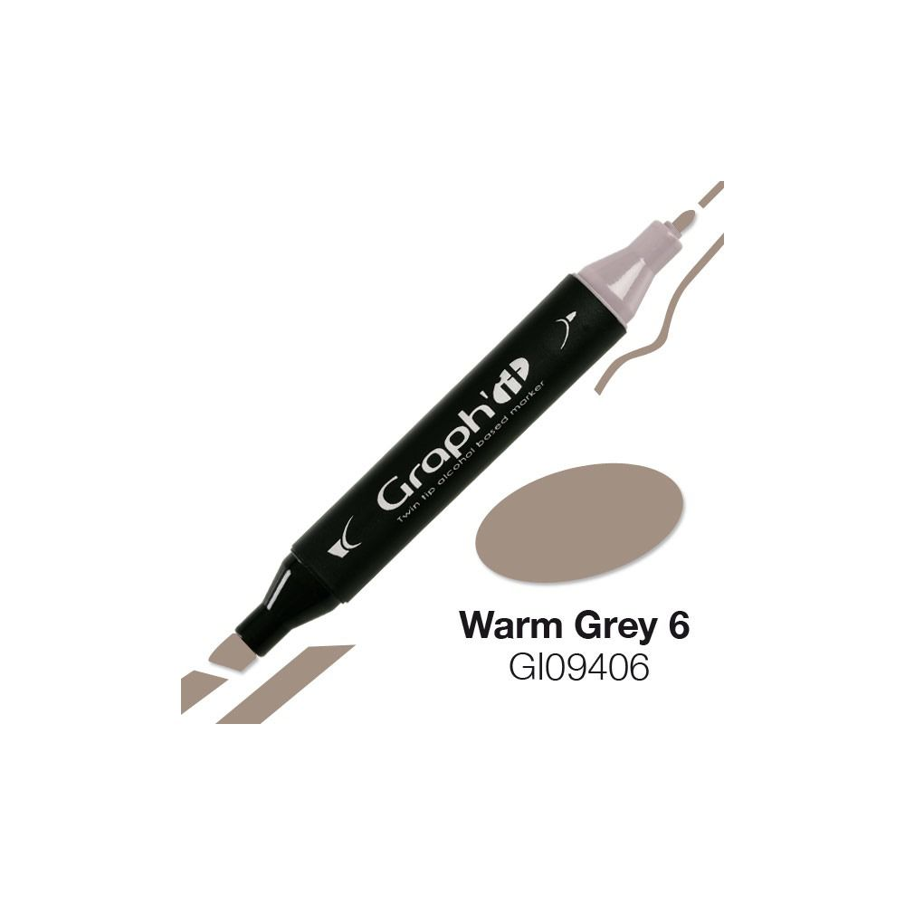 MARQUEUR GRAPH\'IT WARM GREY 6 9406