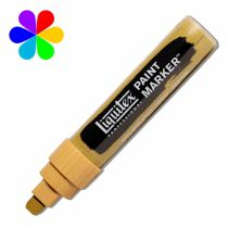 MARQUEUR LIQUITEX POINTE LARGE JAUNE BRONZE