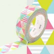MASKING TAPE MOTIF LOSANGES ROSE