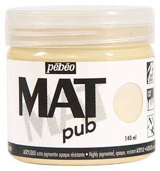 MAT PUB 140ML IVOIR BEIGE