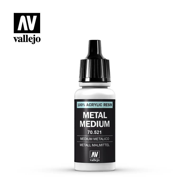 METALLIQUE MEDIUM 521-17ML.