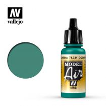 "MODEL AIR COCKPIT EMERALD GREEN ""FADED\"" 17ML"