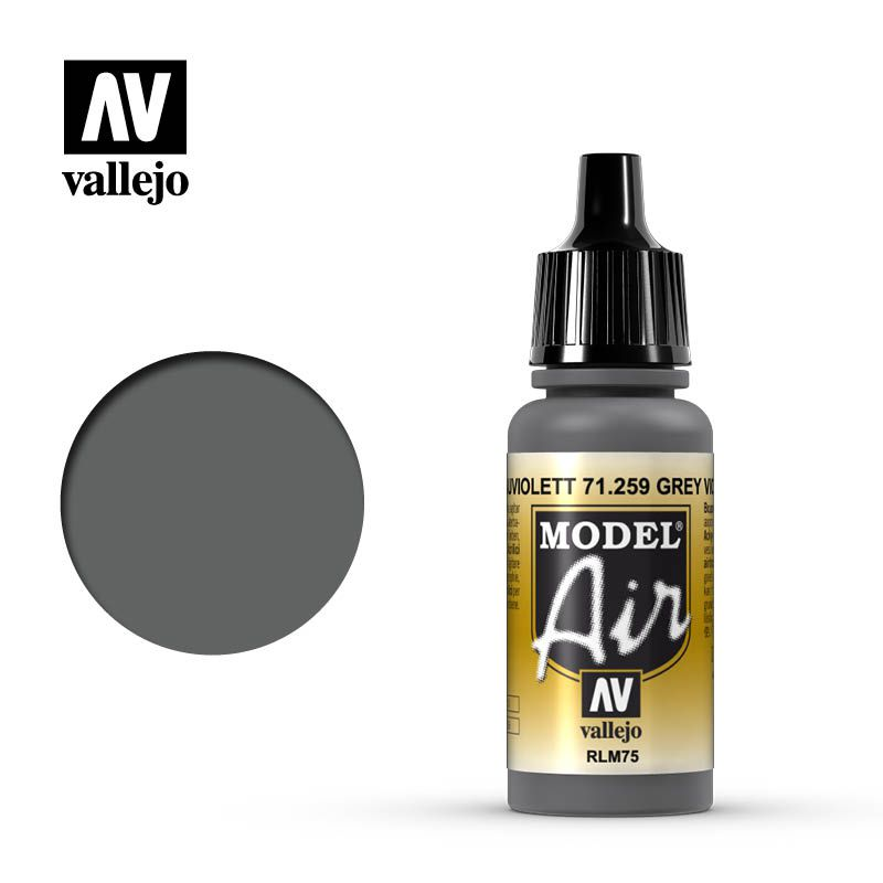 MODEL AIR GREY VIOLET RLM75 17ML