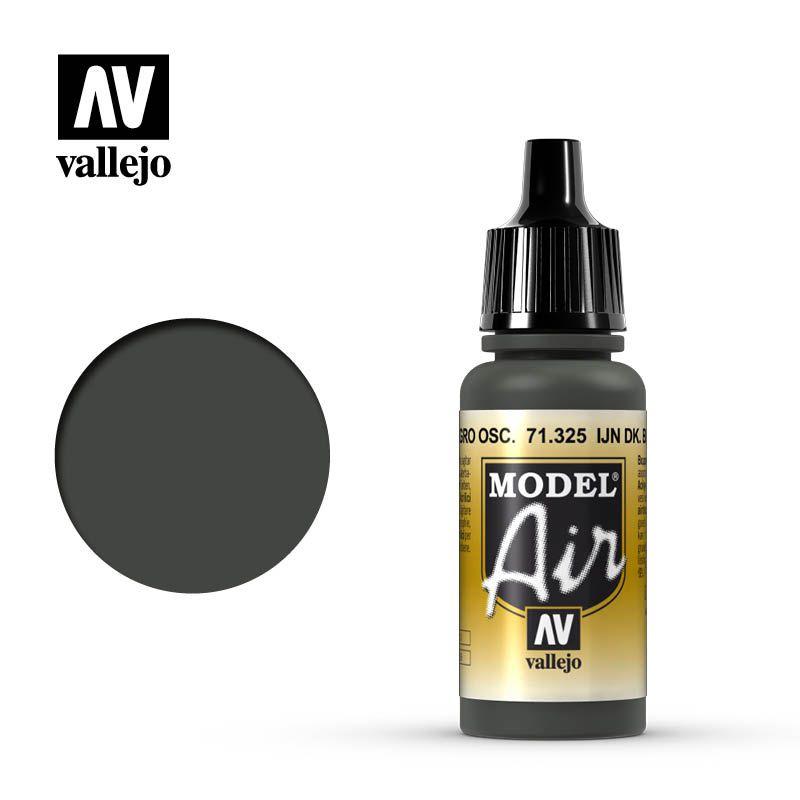 MODEL AIR IJN DARK BLACK GREEN 17ML
