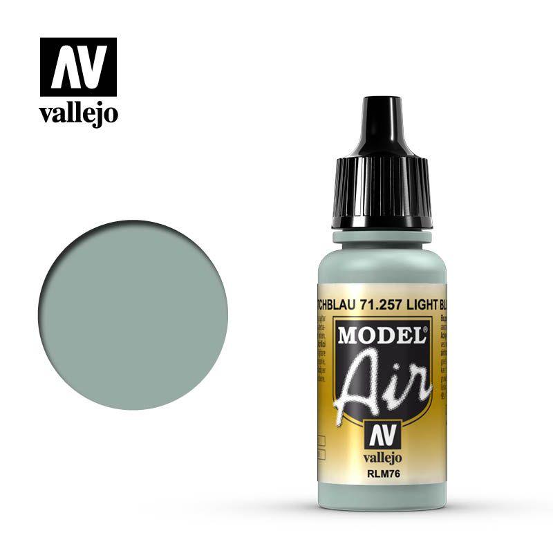 MODEL AIR LIGHT BLUE RLM76 17ML