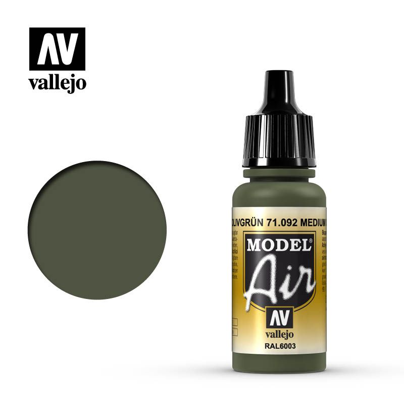 MODEL AIR MEDIUM OLIVE 17ML