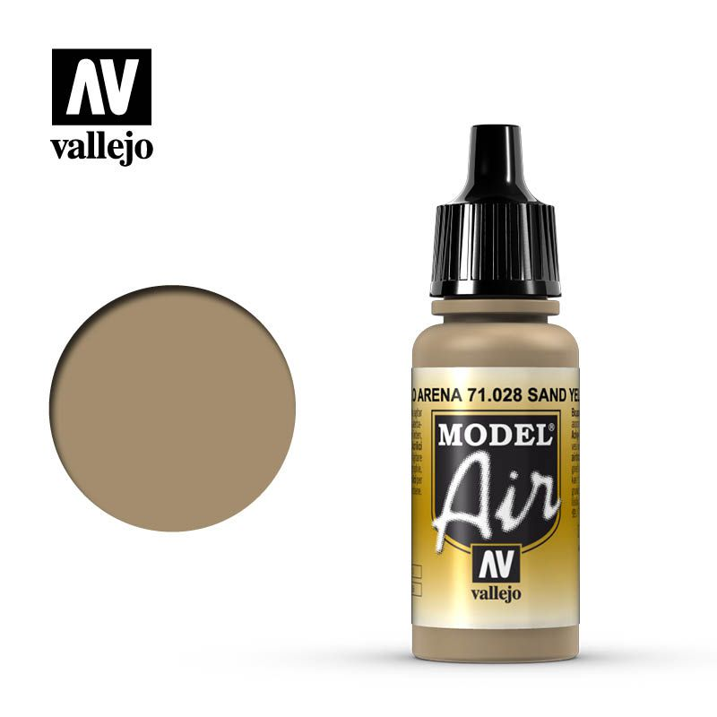 MODEL AIR SAND YELLOW 17ML