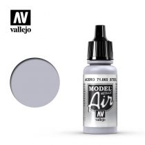 MODEL AIR STEEL METALLIC 17ML