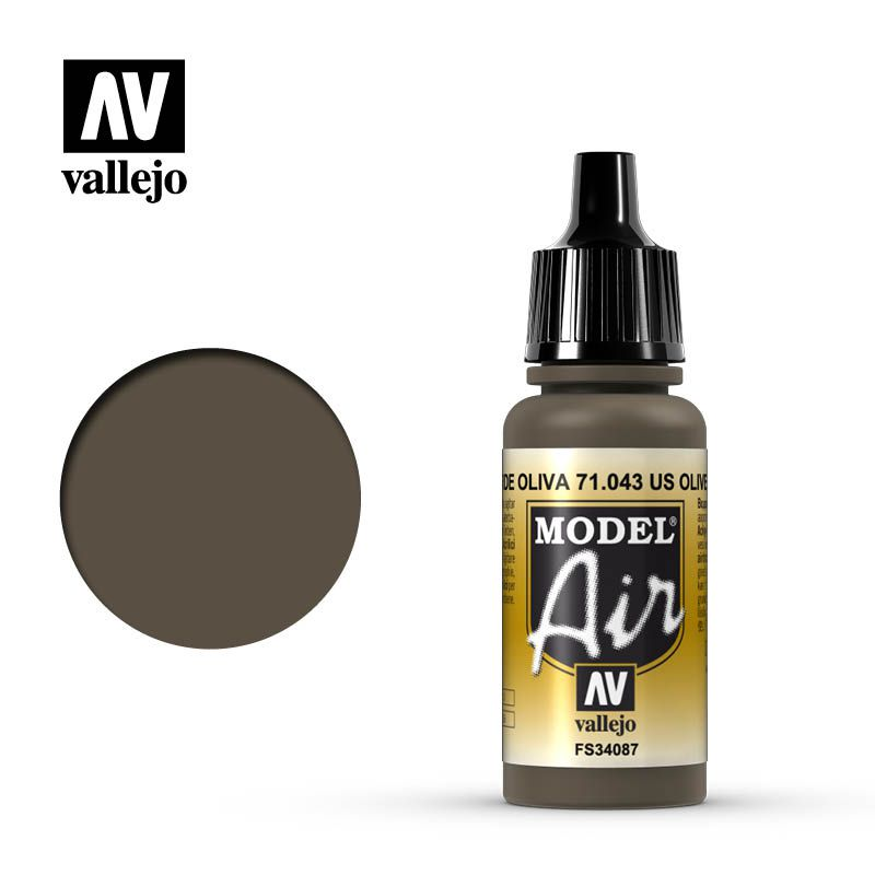MODEL AIR US OLIVE DRAB 17ML