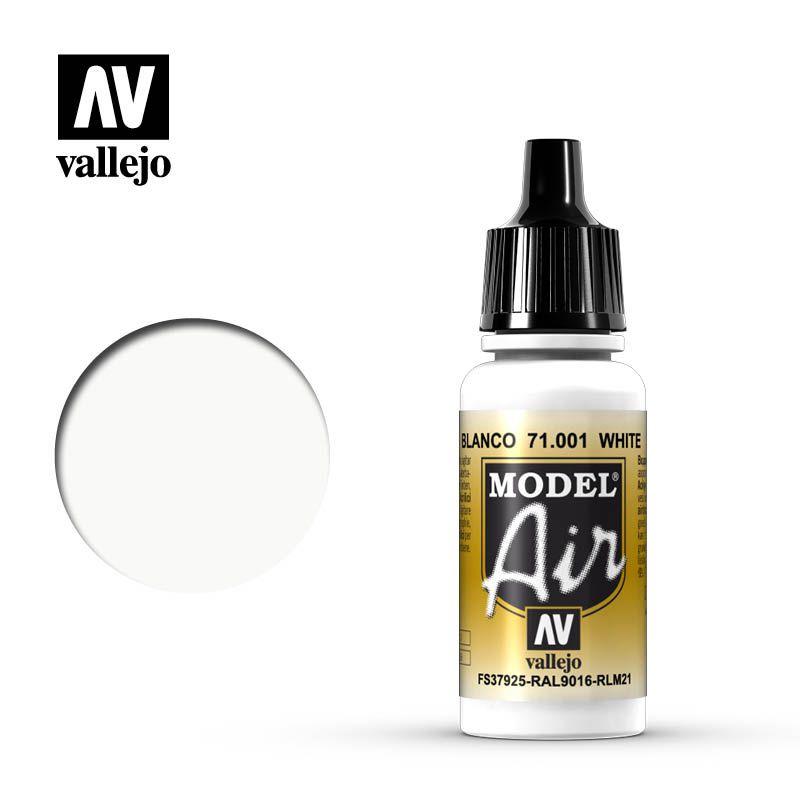 MODEL AIR WHITE 17ML