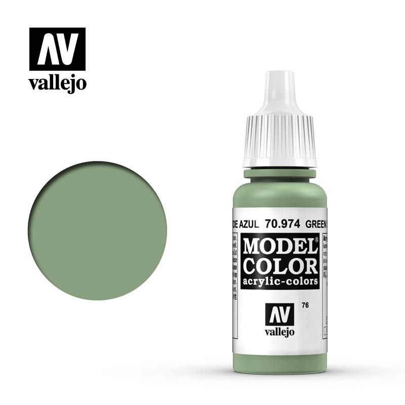 MODEL COLOR 076 GREEN SKY 17ML