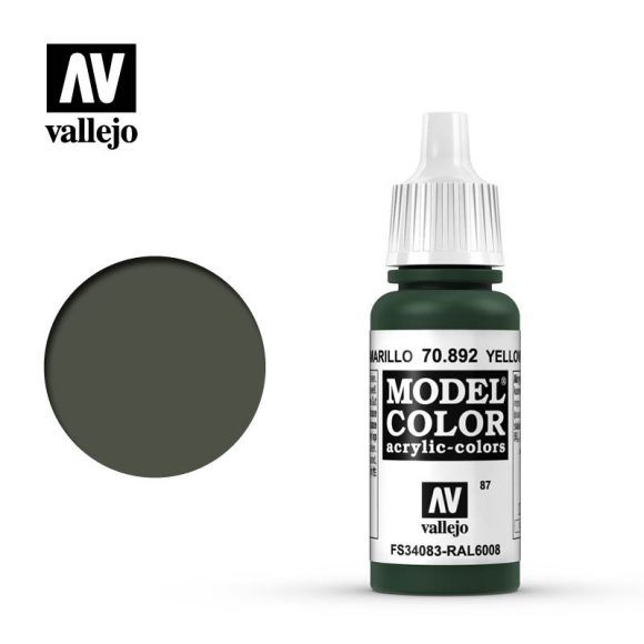 MODEL COLOR 087 YELLOW OLIVE 17ML