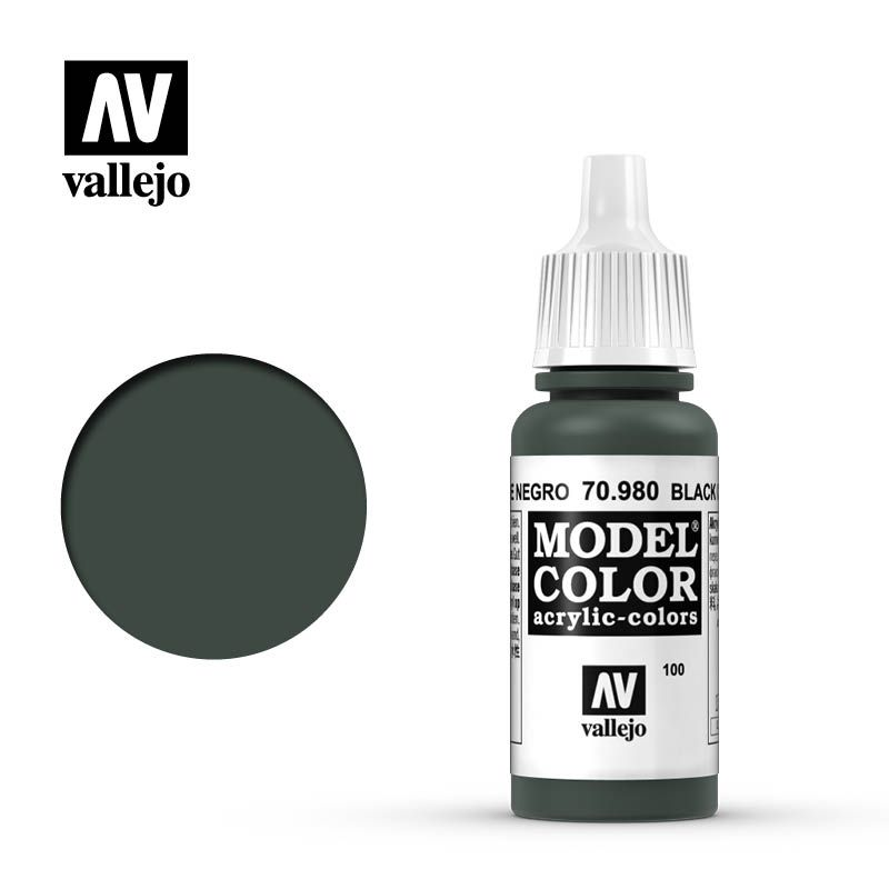 MODEL COLOR 100 BLACK GREEN 17ML