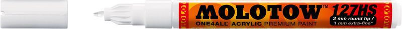 MOLOTOW™127 HS-EF ONE4ALL™ 1MM  BLANC 160