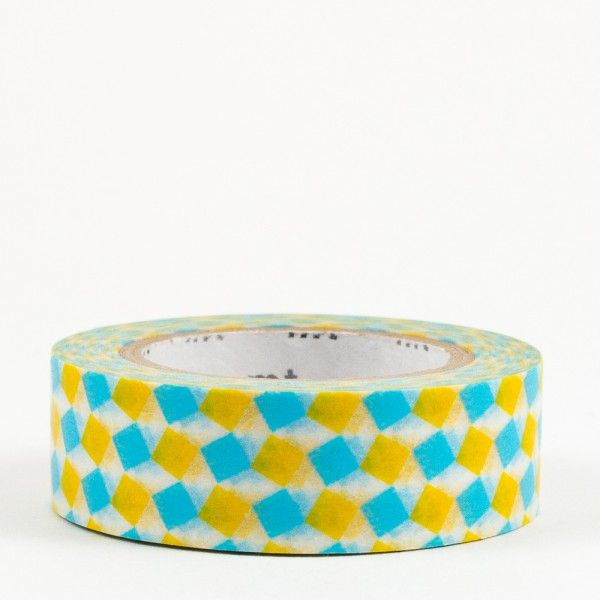 masking-tape-carre-jaune-et-bleu-square-yellow