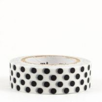 masking-tape-pois-noirs-dot-black