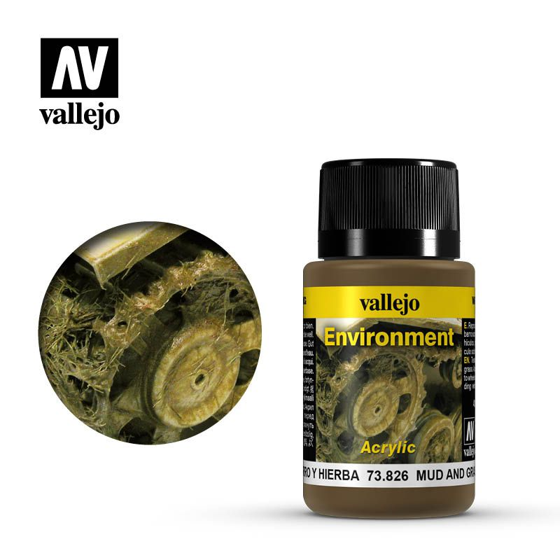 MUD AND GRASS EFFECT 40ML