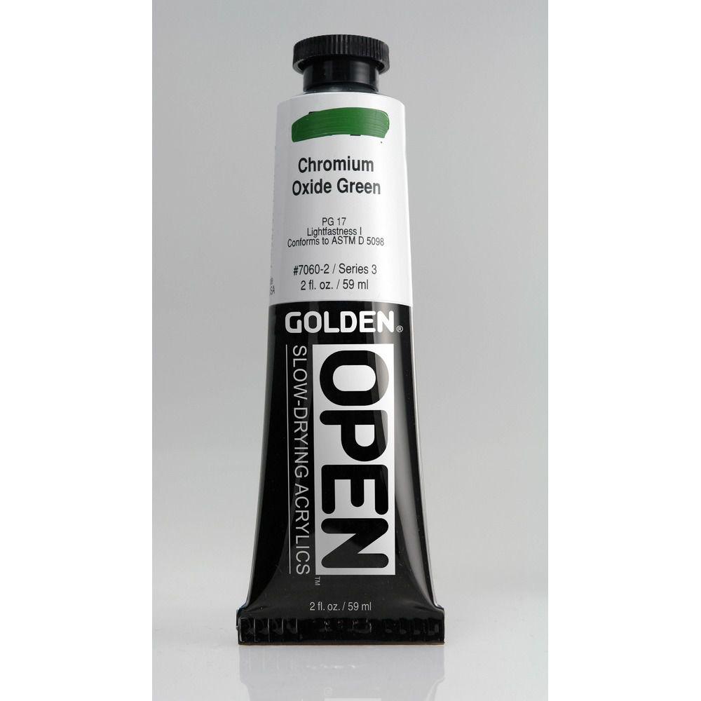 OPEN 60 ml Vert oxyde chrome S3