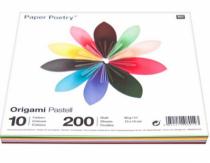 origami pastel 15x15