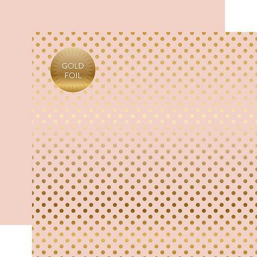 PAPIER A POIS GOLD FOIL DOT BLOSSOM juin19