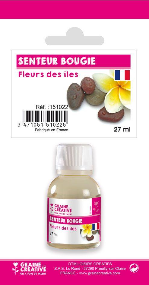 PARFUM BOUGIE FLEURS DE ILES