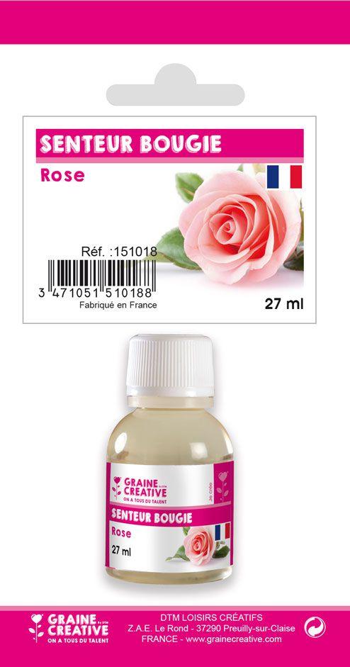 PARFUM BOUGIE ROSE
