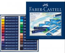 PASTEL A L\'HUILE FABER CASTELL X 24