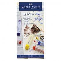 PASTEL TENDRE CREATIVE STUDIO FABER CASTELL X 12