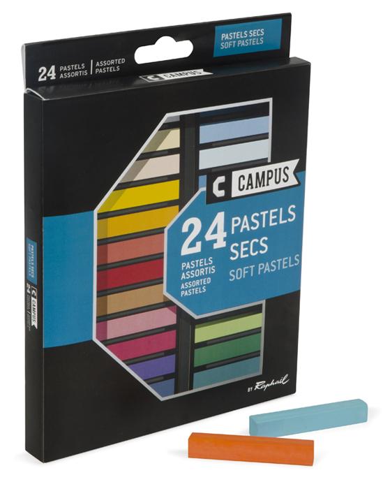 PASTELS SECS CAMPUS X 24
