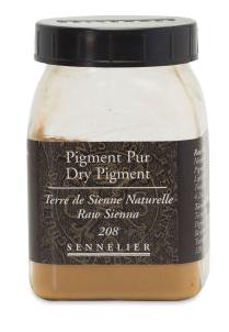 PIGMENT PUR TERRE DE SIENNE NATURELLE 120 g