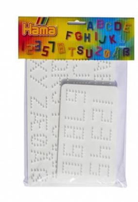 plaque alphabet