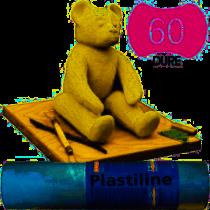 PLASTILINE 1KG IVOIRE DURETE 60 DURE