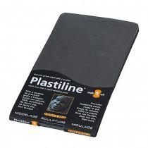 PLASTILINE GRIS FONCE 750G DURETE 1 SOUPLE