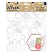 POCHOIR COLLECTION CAPSULE GEOMETRIC KRAFT