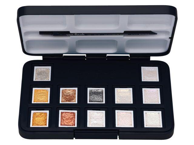 POCKET BOX 12 1/2 GODET VAN GOGH METALLIC ET INTERFERENCE