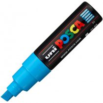POSCA POINTE LARGE BISEAUTEE 8MM TURQUOISE