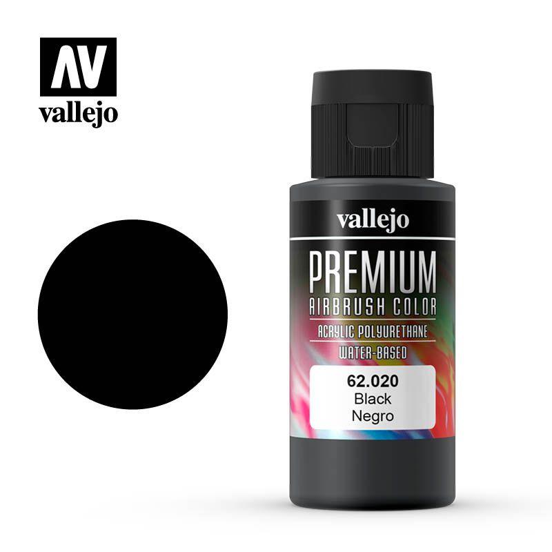 PREMIUM COLOR 020 BLACK 60ML