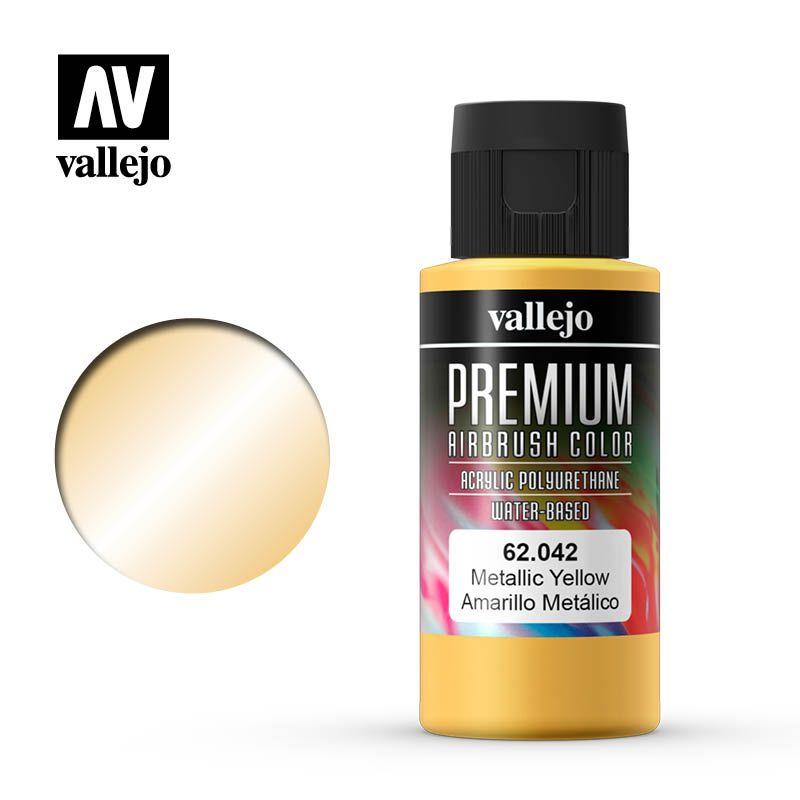 PREMIUM COLOR 042 METALLIC YELLOW 60ML